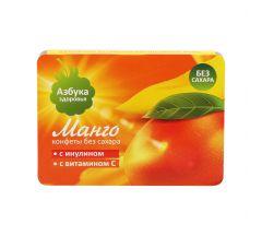 Азбука Здоровья конфеты фруктовая мякоть Манго 12г