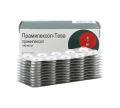 Прамипексол-Тева таб. 1мг №100