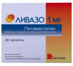Ливазо таб.п/о плен. 1мг №28
