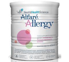 Альфаре Аллерджи полноценное сбалансированное полуэлементарное питание 450г