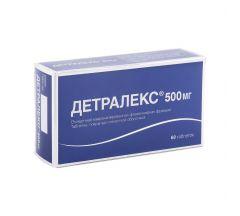 Детралекс таб.п/о 500мг №60