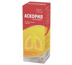 Аскорил эспекторант сироп 100мл