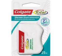 Колгейт лента зубная Тотал фтор/мята 25м
