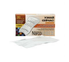 Наркочек тест мультипанель д/выявления 5видов наркотиков в моче