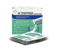 Аспирин Комплекс пор.д/приг.р-ра №10