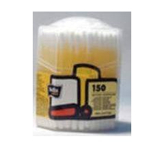 Белла ватные палочки 8-угольная пластиковая коробка №150