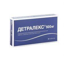 Детралекс таб.п/о 500мг №30