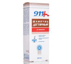 911 шампунь против перхоти дегтярный 150мл