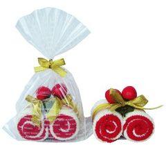 Лисс Кроули полотенце Рулет малиновый сувенирное DD12
