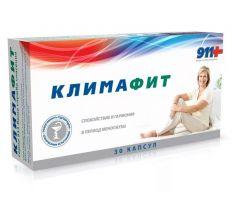 911 Климафит комплекс витаминов д/женщин при перименопаузе/менопаузе капс. №30