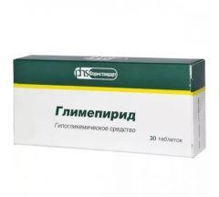 Глимепирид таб. 2мг №30