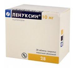 Ленуксин таб.п/о плен. 10мг №28