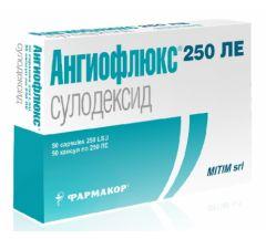 Ангиофлюкс капс. 250ЛЕ №50