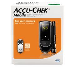 Акку-Чек глюкометр Мобайл комплект 06383602015