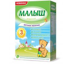 Малыш смесь молочная Мaлыш 3 350г