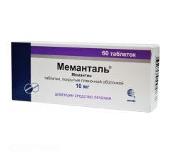 Меманталь таб.п/о плен. 10мг №60